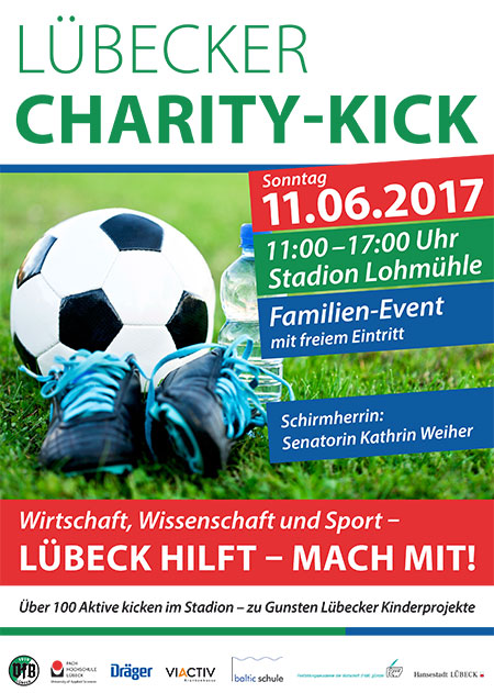 Plakat Charity Kick2017